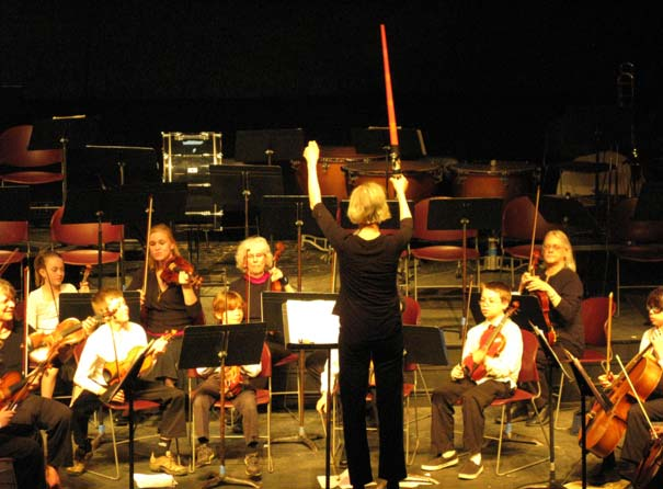 Conducting the Star Wars Theme